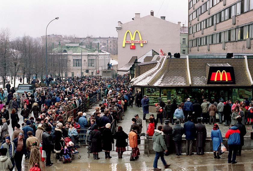 McDonalds Russia