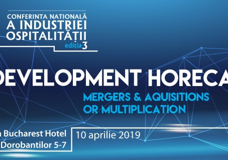 Specialiștii din industria HoReCa vin la Conferința Națională a Industriei Ospitalității, ediția III