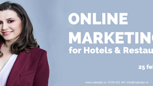 Online Marketing for Hotels & Restaurants