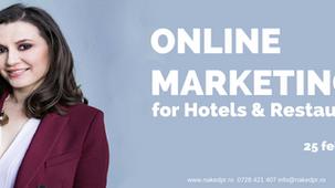 Online Marketing for Hotels & Restaurants