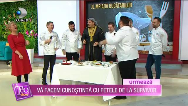 Prezentare Echipa Nationala de Bucatari | Teo Show - Kanal D | 6 Ianuarie