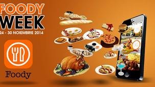 Incepe FOODY WEEK |  24-30 Noiembrie, Bucuresti