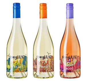 LILIAC a prezentat noua eticheta a vinurilor young. LILIAC 2016
