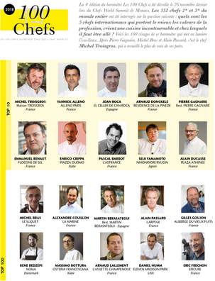 Top 100 Chefs by Le Chef Magazine