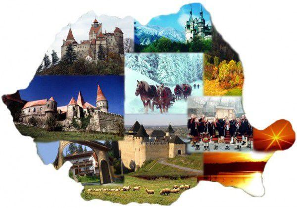 Harta Romania Turistica