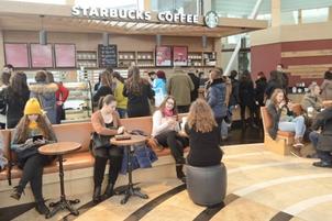 Starbucks va deschide patru cafenele pana la finalul lunii februarie