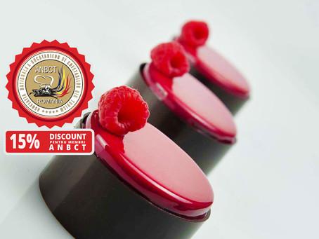 MasterClass RICHARD HAWKE – Gluten Free Pastry | 15% Discount pentru membri ANBCT Romania
