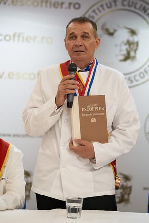 INSTITUT CULINAIRE DISCIPLES ESCOFFIER ROMÂNIA SE LANSEAZĂ CA INSTITUT DE SINE STĂTĂTOR SUB COORDONA