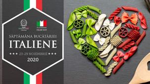 23-29 Noiembrie, Saptamana Bucatariei Italiene