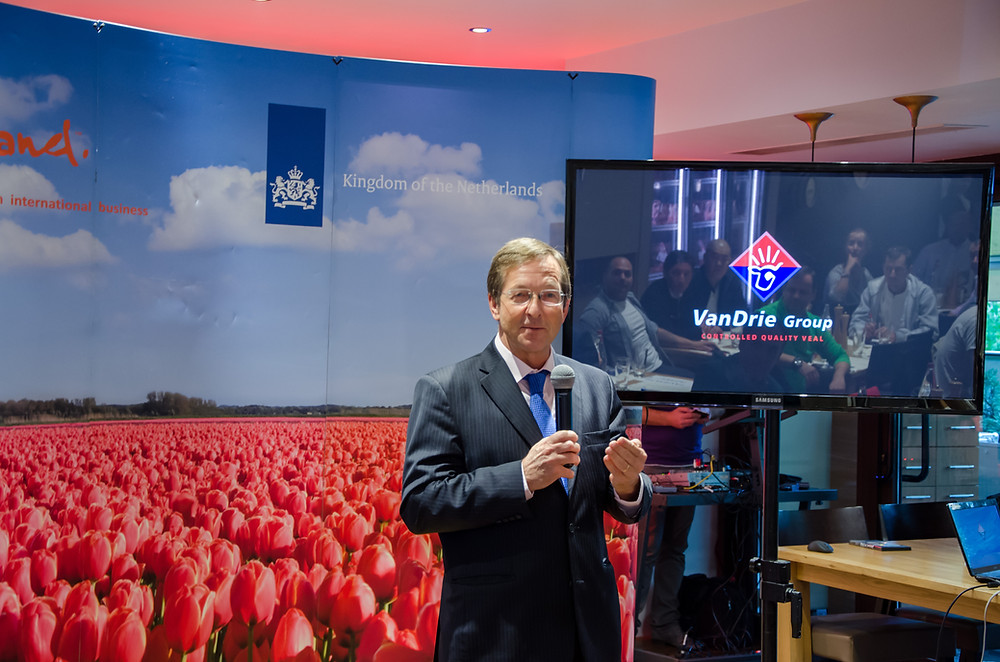 Ambasadorul Olandei Matthis van Bonzel