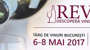 """REVINO - Descopera vinurile din Romania"" editia a II a, 6-8 Mai 2017"