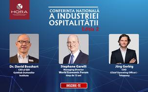 Conferinta Nationala a Industriei Ospitalitatii va avea loc pe 11-12 Aprilie, la JW Marriott Buchare