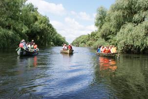 În Delta Dunării vin de zece ori mai puţini turişti decât în deltele din Franţa şi Italia