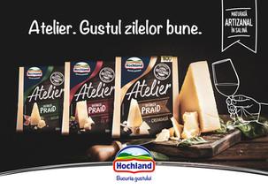 """Hochland relansează gama de specialități  sub numele """"Atelier"""""""