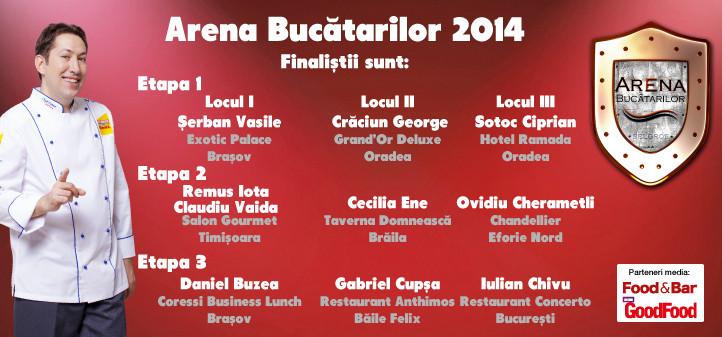 Arena Bucatarilor 2014