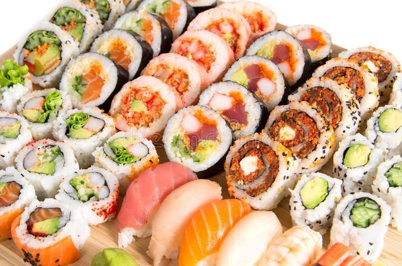 Despre sushi, cu chef Vova