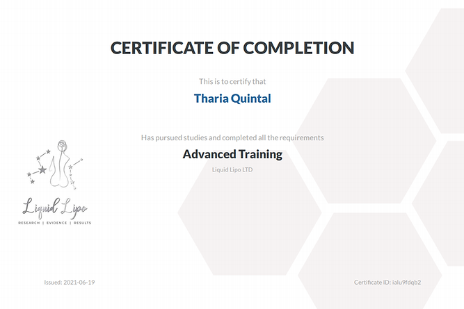 Tharia Advanced Certificate.png