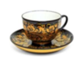 Чайная пара Хохлома (фарфор)