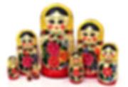 Матрёшка «Россияночка» 8 кукол