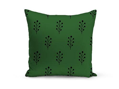 Almofada Verde Galhos
