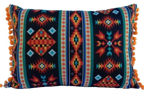 Almofada Navajo Preta