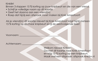 Promotie actie Kinki Amersfoort