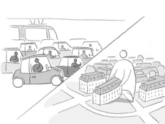 Multiplicité des moyens de transport