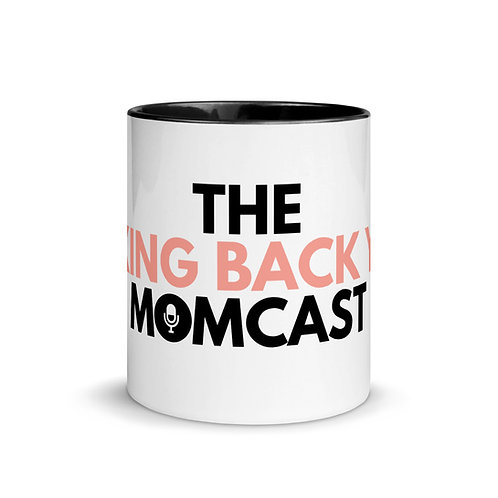 Taking Back YOU Momcast 11 oz. Mug with Color Inside
