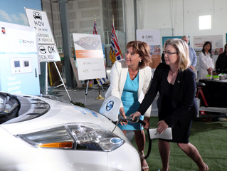 BC's Climate Leadership Plan—Electric Vehicles