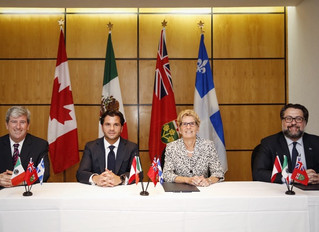 Mexico, Ontario and Quebec Sign Joint Declaration on Climate Change