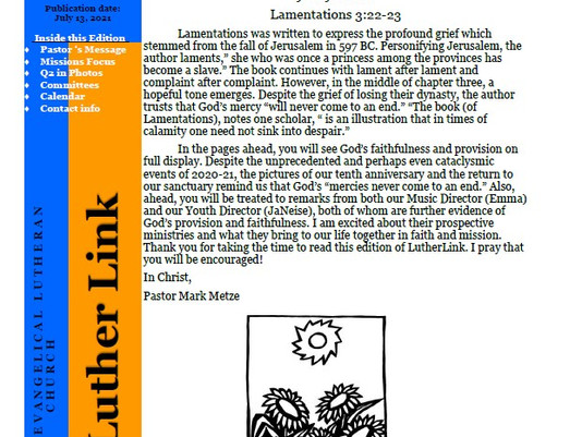 Luther Link Q2 2021