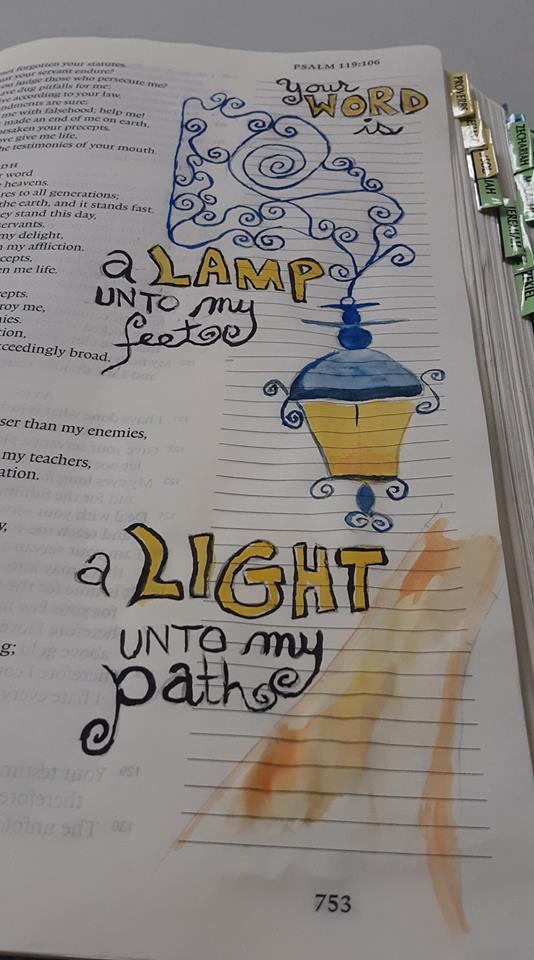 Tracy Bathgate - Bible Journaling May 20