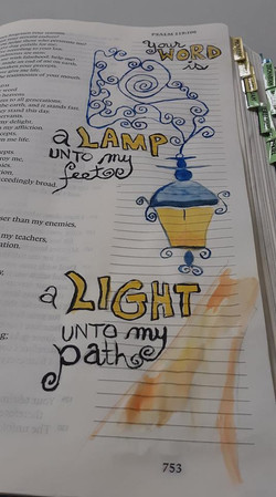 Tracy Bathgate - Bible Journaling May 20