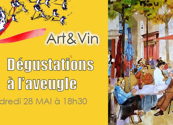 Séance Dégustation Vins Fromages 28 mai 18h30