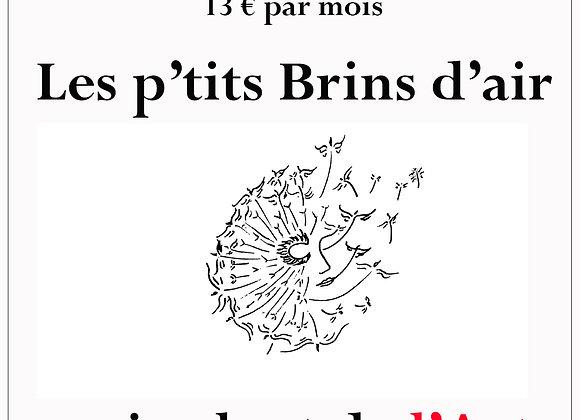 Six mois d'abonnement Les p'tits Brins d'air