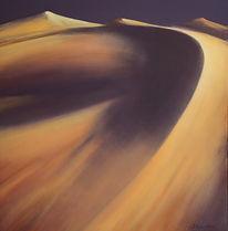 Jacques Echavidre-Dune 1mx1m-Brins de Fr