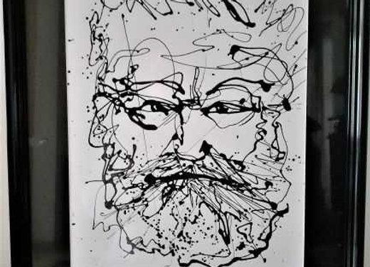 Portrait de Victor Hugo 1