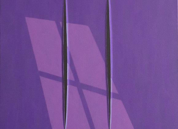 Spazio concettuale Viola e finestra