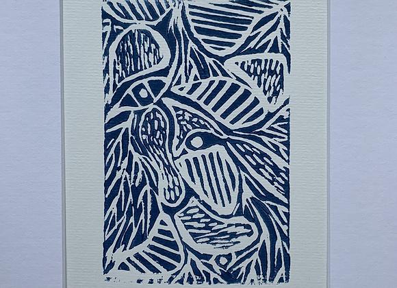 Jungle linogravure