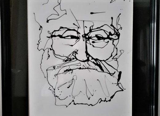 Portrait de Victor Hugo 2