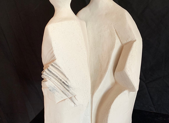 Les veilleurs, sculpture