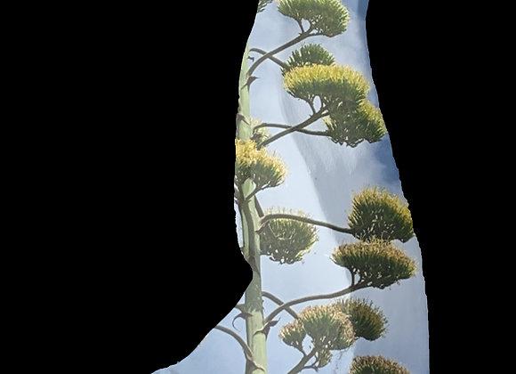 Sous les fleurs d'agave Photosculpt