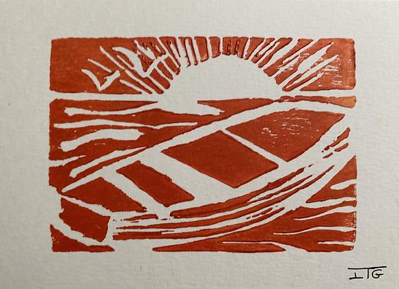 Linogravure PF2