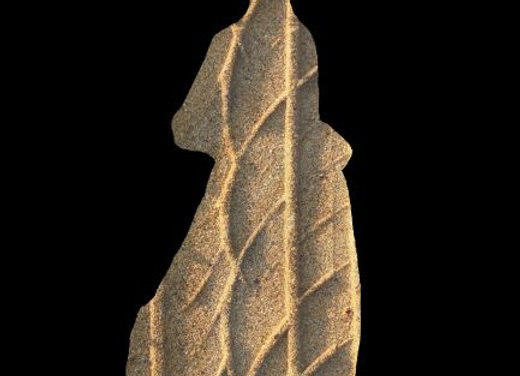 Gaufrette de sable Photosculpt