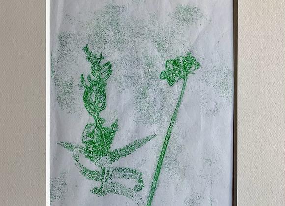 Fleurs des champs 1 monotype
