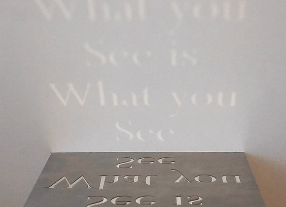 What you see is what you see