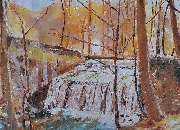 La cascade des Vaux de Cernay