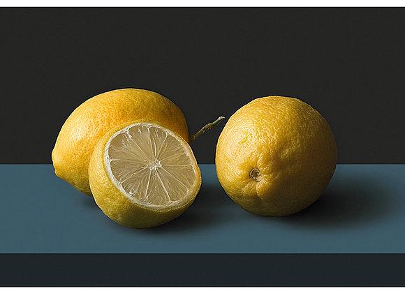 Trois citrons Format 30x40cm