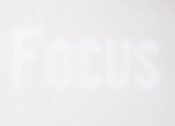 Focus blanc