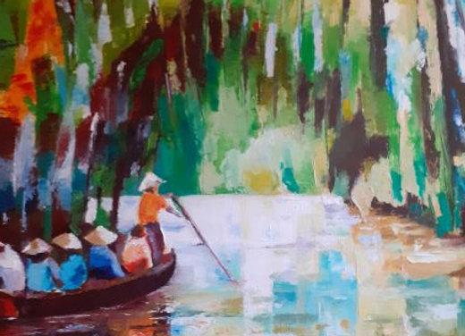 A travers la mangrove